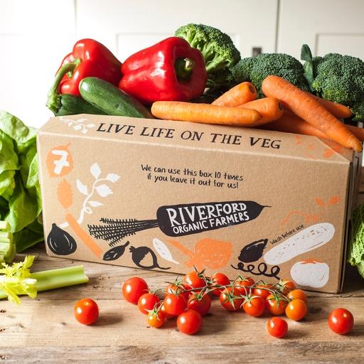 Quick organic veg box - medium
