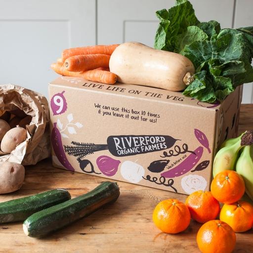 Seasonal organic fruit & veg box - small