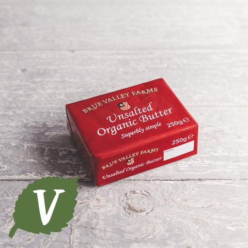 Brue valley unsalted butter 250g