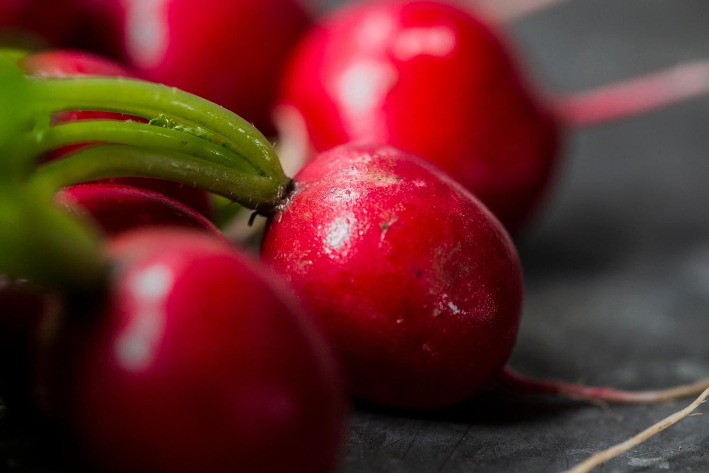 Bunched radish