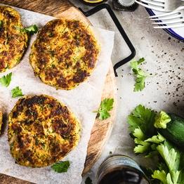 Courgette Falafel Burger Kit