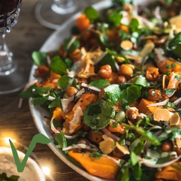 Carrot Christmas salad