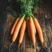 Bunched carrots 500g
