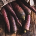 Purple carrots 750g