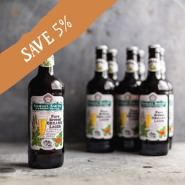 12 x Samuel smith's pure brewed lager 55cl