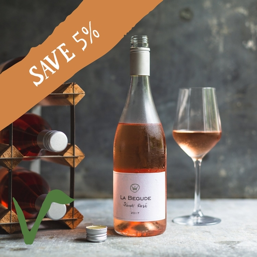6 x Domaine Begude pinot rosé 75cl
