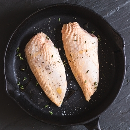 Chicken breast fillets (skin on)