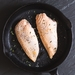 Chicken breast fillets (skin on) 370g