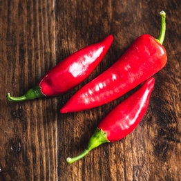 Mild mixed chillies x3