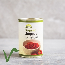 Tinned chopped tomatoes 400g