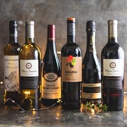 Christmas mixed wine case