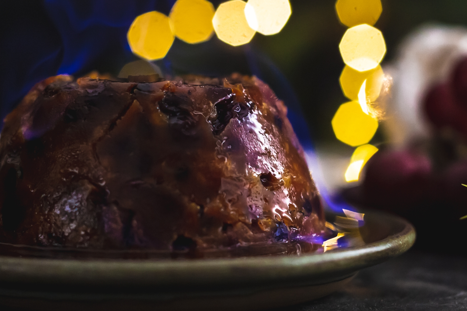 Large Christmas pudding