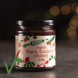 Plum & cranberry chutney 200g