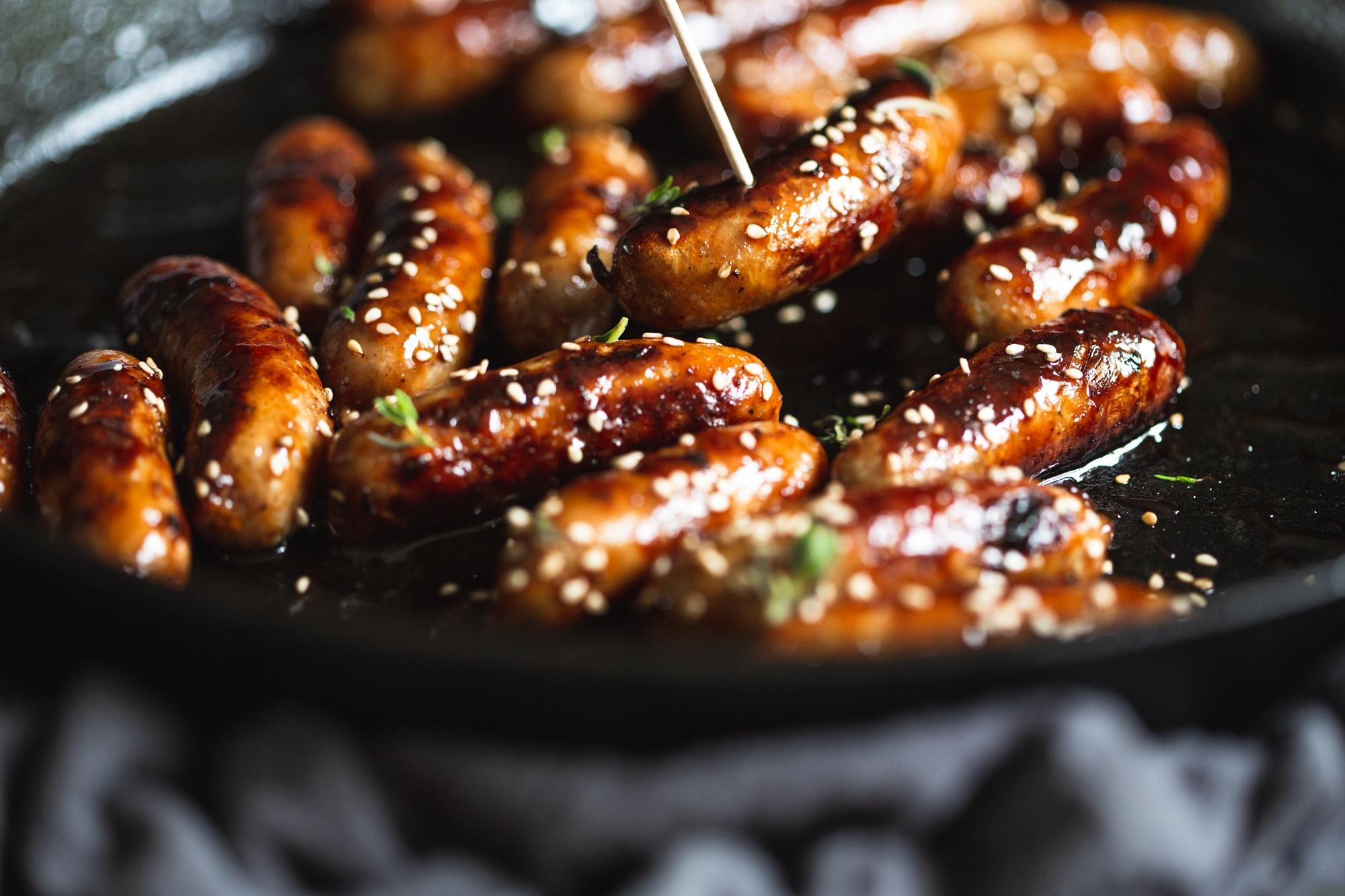 Pork cocktail sausages