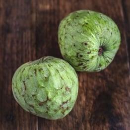 Custard apples x2