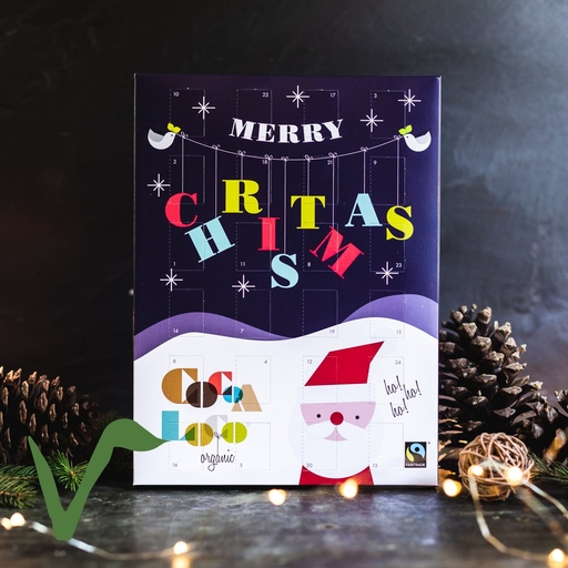 Dark chocolate advent calendar 240g