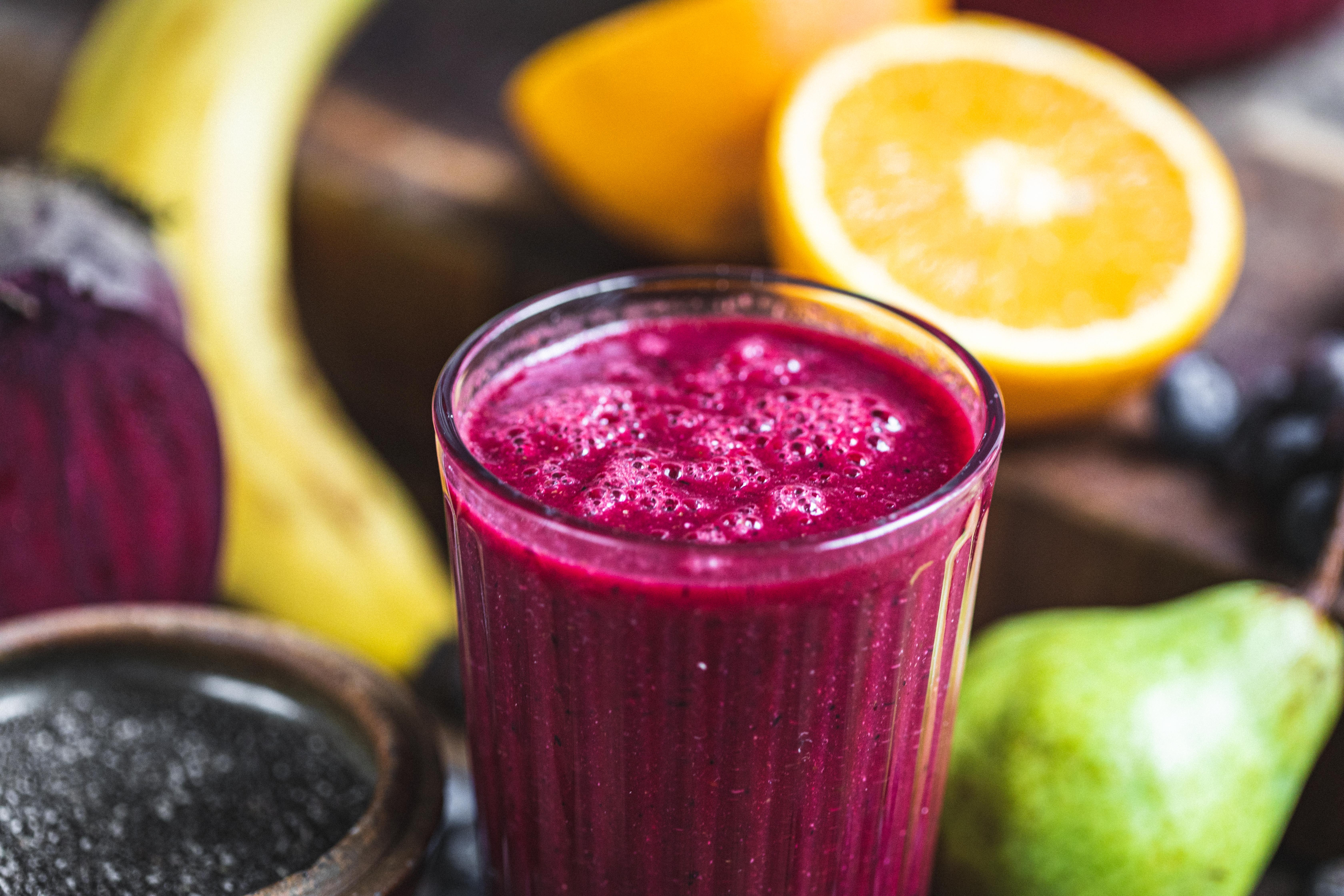 Drinks and juicing