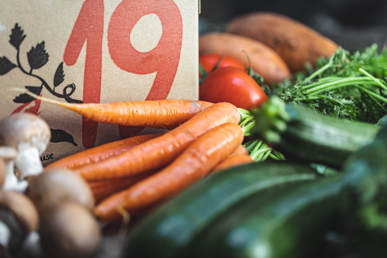 Familiar Favourites organic veg box