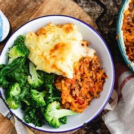 Shepherd's Pie & Broccoli