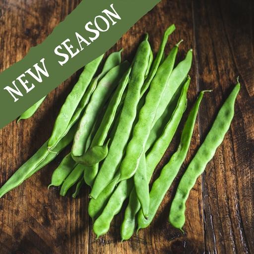 Flat beans 350g