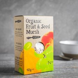 Fruit & seed muesli