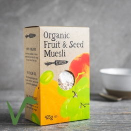 Fruit & seed muesli 425g