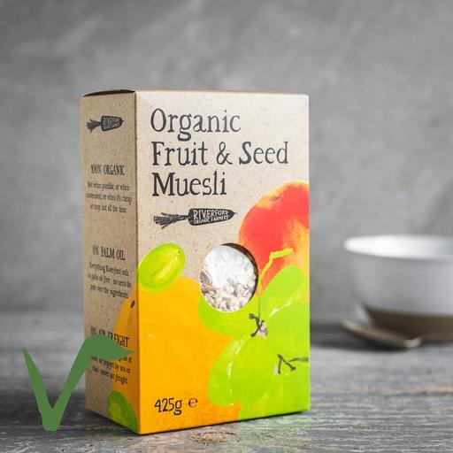 Fruit & seed muesli 425g