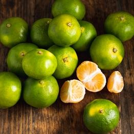 Green satsumas