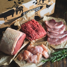 Large everyday meat box