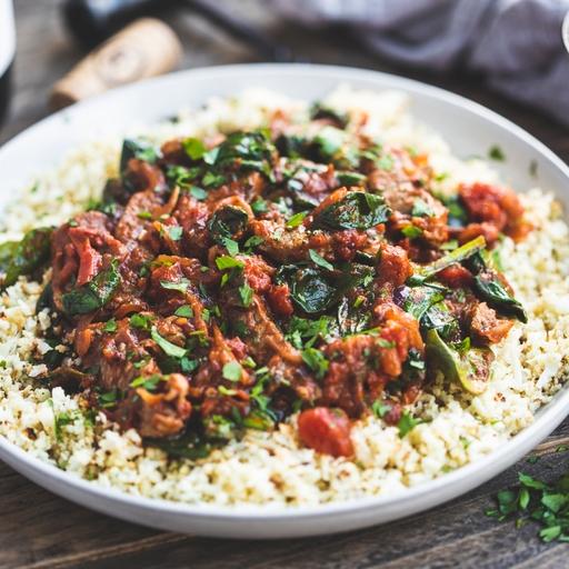 Tikka Beef Stir-fry & Cauli Rice