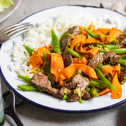 Five-spice Beef & Jasmine Rice
