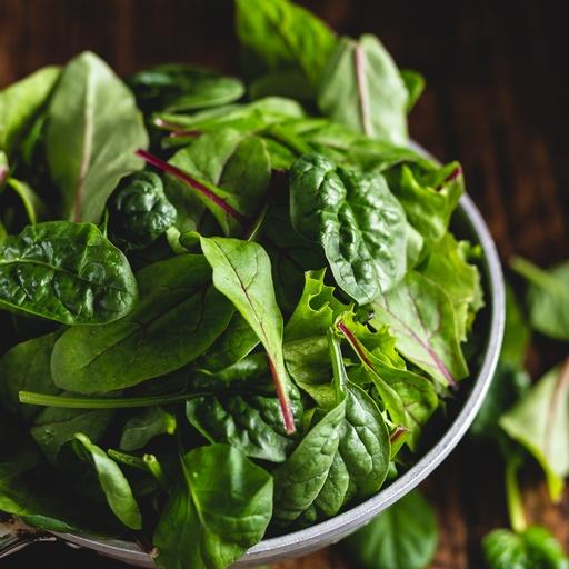 Mild mixed salad leaves 150g