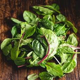 Mild mixed salad leaves 80g