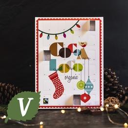 Milk chocolate advent calendar 240g