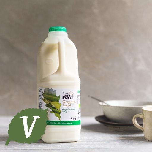 Semi skimmed milk 2l