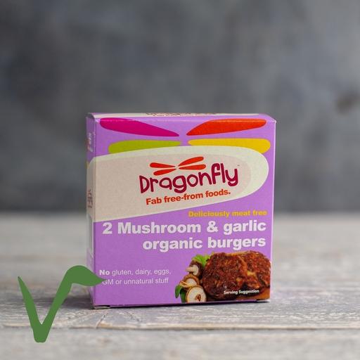 Mushroom & garlic burger 2x100g