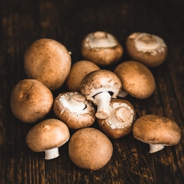 Chestnut mushrooms 400g
