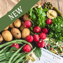 New potato & summer veg salad bag