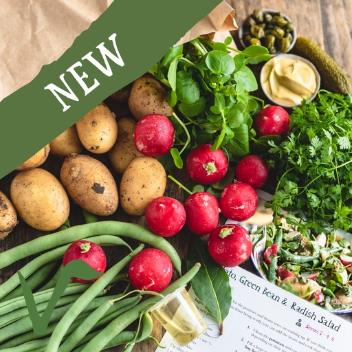 New potato & summer veg salad bag