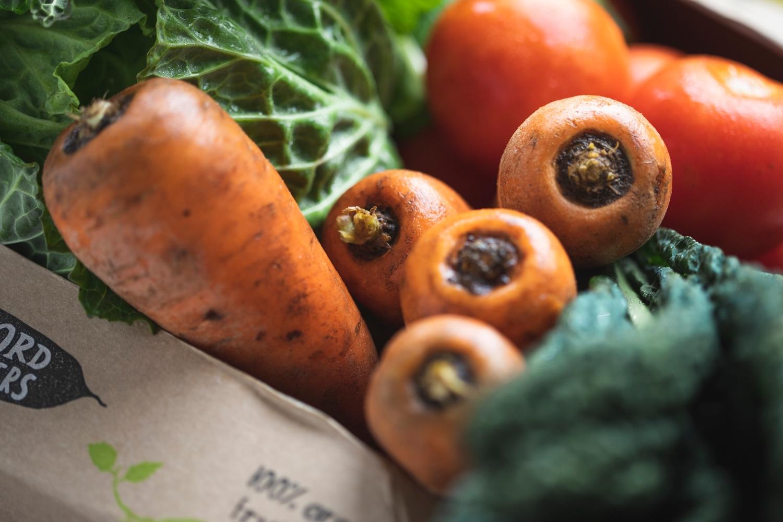 No potatoes organic veg box – medium