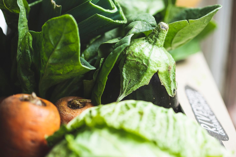 No potatoes organic veg box – small