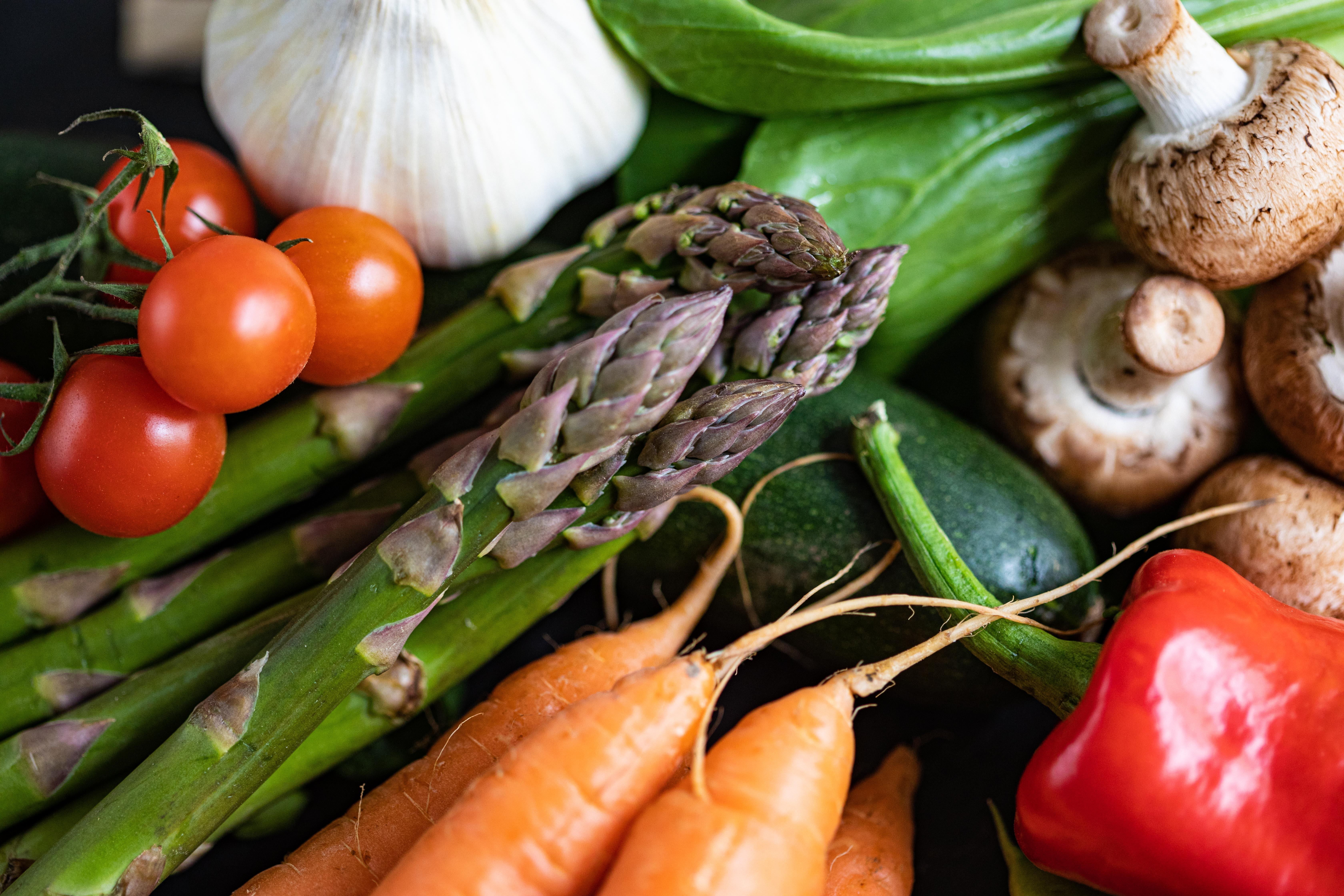 Fruit, veg & salad