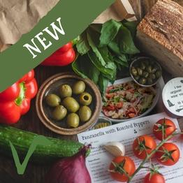 Panzanella salad bag