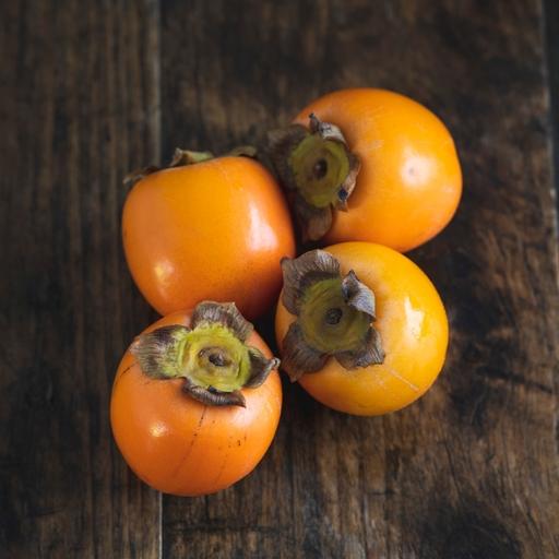 Persimmon fruit x4