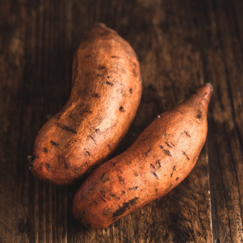 Image of Sweet potato being produced
