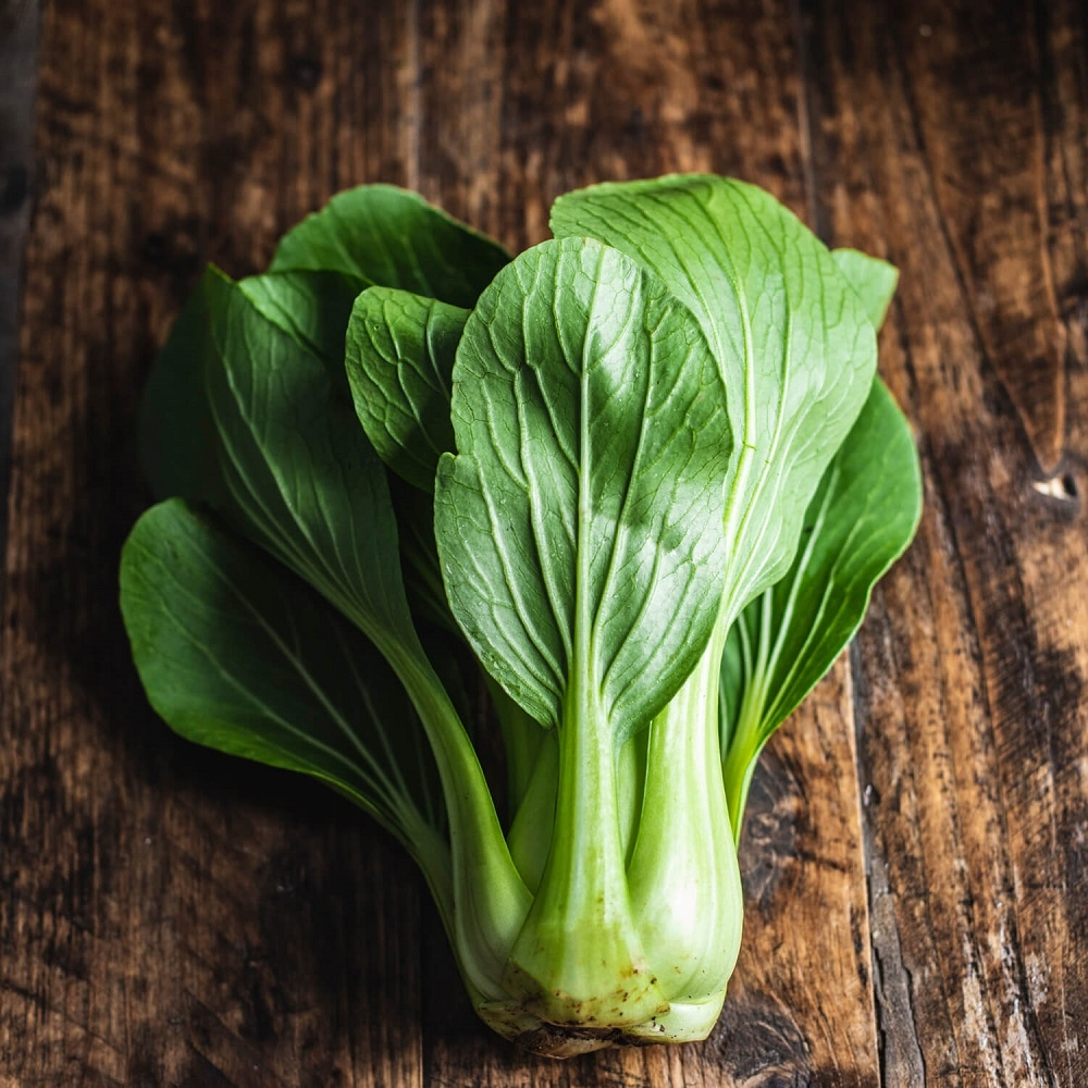 Image of Pak choi being produced