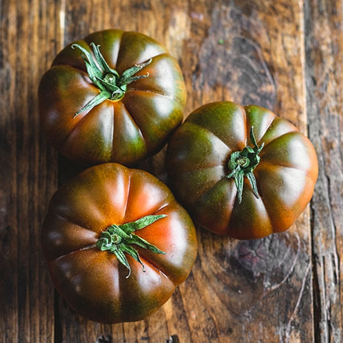 Picture of Black Pearl tomatoes
