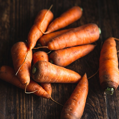 Picture of Chantenay carrots