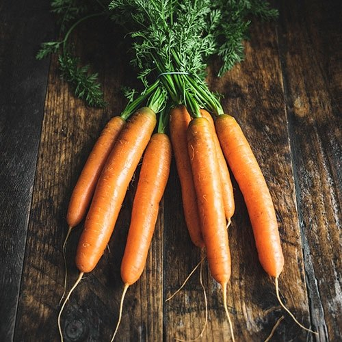 Picture of Bunched carrots