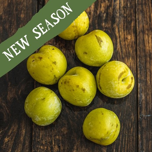 Yellow plums 400g